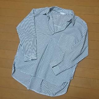 ドレスキップ(DRESKIP)のストライプシャツ/長袖ブラウス/スキッパーシャツ(シャツ/ブラウス(長袖/七分))