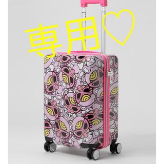 ヒステリックミニ(HYSTERIC MINI)の専用♡ヒスミニ キャリーバッグ(スーツケース/キャリーバッグ)