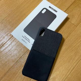 インケース(Incase)のincace iPhoneXs Max ケース(iPhoneケース)