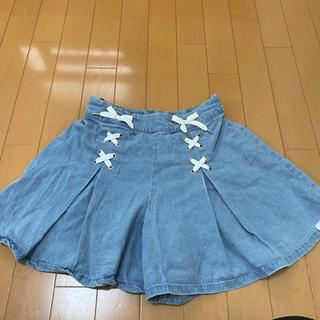 ピンクラテ(PINK-latte)のスカートズボン(ミニスカート)