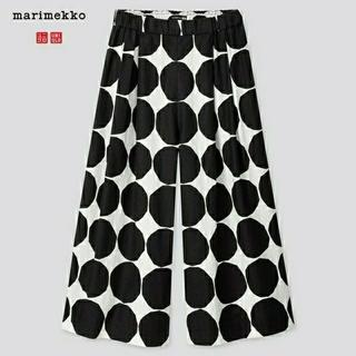 マリメッコ(marimekko)の【UNIQLO×MARIMEKKO】海外限定 レディース 7分丈キュロットパンツ(カジュアルパンツ)