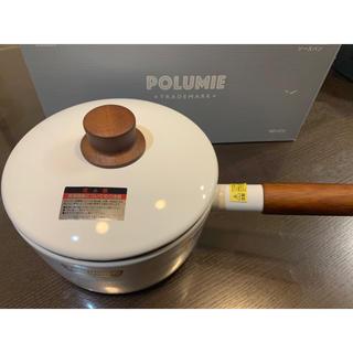フジホーロー(富士ホーロー)のフジホーロー ポルミエ ソースパン 18cm ND-572 新品未使用品(鍋/フライパン)