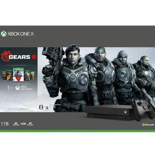 エックスボックス(Xbox)の即日発送 Xbox One X (Gears 5 同梱版) 新品未開封品‼︎(家庭用ゲーム機本体)