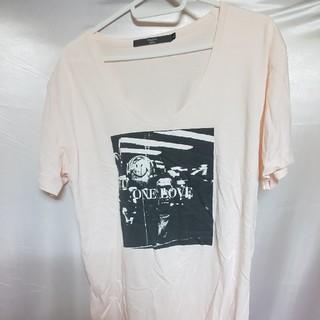 アルシーヴ(archives)のMagine Archive アルシーヴ 春夏物One LOVEプリント半袖Tシ(Tシャツ/カットソー(半袖/袖なし))
