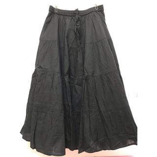フランシュリッペ(franche lippee)のfranche lippee 黒のスカート(ロングスカート)