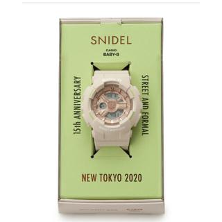 スナイデル(snidel)のSNIDEL✖️BABY-G コラボ❣️限定品💕(腕時計)