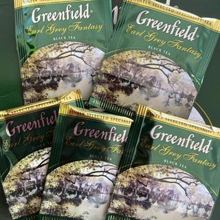 ロシア紅茶 greenfield(グリーンフィールド)アールグレイ(茶)