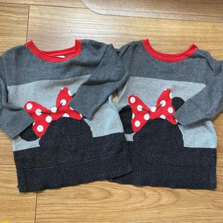 ディズニー(Disney)のbaby gap ディズニー セーター 2点セット ミニー(ニット)