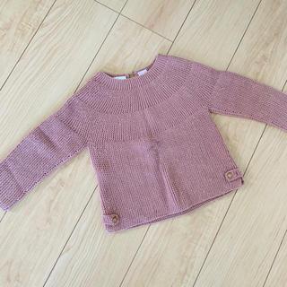 ザラキッズ(ZARA KIDS)のZARA baby ニット セーター くすみカラー(その他)
