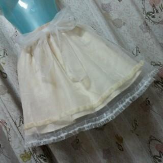 リズリサ(LIZ LISA)のリズリサ★オーガンジースカート(ひざ丈スカート)