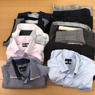 エムエフエディトリアル(m.f.editorial)のパンツ、ワイシャツ、ジャケットまとめ売り(スーツジャケット)