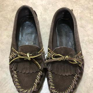 リーガル(REGAL)のリーガル  モカシン 24.5 革靴(スリッポン/モカシン)