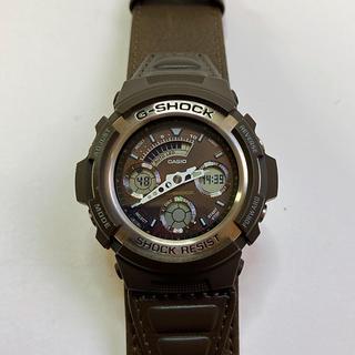 ジーショック(G-SHOCK)のG-SHOCK AW-590BL L.X エルクロス 美品(腕時計(アナログ))