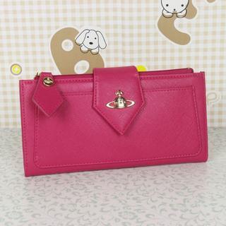 ヴィヴィアンウエストウッド(Vivienne Westwood)のヴィヴィアンウエストウッド 長財布 濃いピンク(財布)