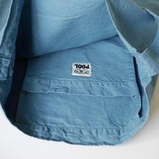 イデー(IDEE)の無印良品POOL いろいろの服 ワンショルダートート ブルーグレー(トートバッグ)