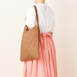 イデー(IDEE)の無印良品 IDEE POOL いろいろの服 ワンショルダートート ブラウン(トートバッグ)