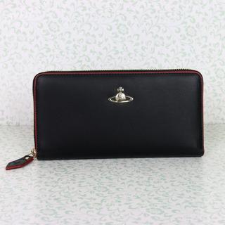 ヴィヴィアンウエストウッド(Vivienne Westwood)のヴィヴィアンウエストウッド 長財布 ブラック ラウンドファスナー(財布)
