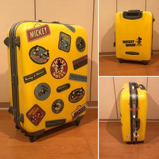 ディズニー(Disney)の【ミッキー】スーツケース キャリー ディズニー ミニー(スーツケース/キャリーバッグ)
