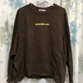 ミルクフェド(MILKFED.)のミルクフェド FRONT LOGO TOP*.(Tシャツ(長袖/七分))