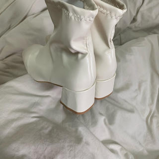 menurco ブーツ ホワイト (ブーツ)