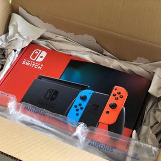 ニンテンドースイッチ(Nintendo Switch)の任天堂 新型 Nintendo Switch ネオンブルー/ネオンレッド(家庭用ゲーム機本体)