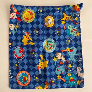 ポケモン(ポケモン)のポケモン巾着袋(ランチボックス巾着)