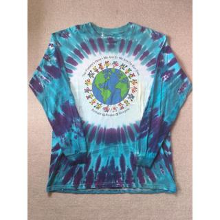 アートヴィンテージ(ART VINTAGE)の90s vintage Greatful Dead Tiedye L/S Tee(Tシャツ/カットソー(七分/長袖))