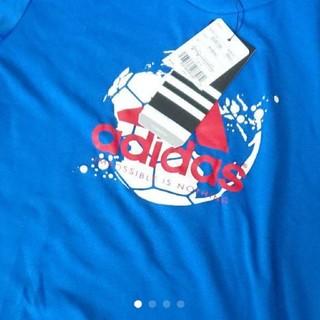 アディダス(adidas)の【お値下げ】adidas 120cm CLIMALITE Tシャツ(Tシャツ/カットソー)
