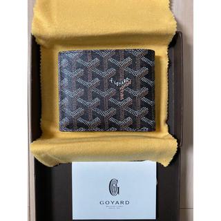 ゴヤール(GOYARD)の【新品 未使用】ゴヤール 折り財布 カード×6 お札×2 ブラック (折り財布)
