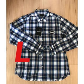 エフシーアールビー(F.C.R.B.)のFCRB ネルシャツ Lサイズ flannel ブリストル (シャツ)