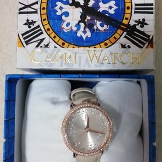 カプリウォッチ(CAPRI WATCH)の未使用 カプリウォッチ 腕時計 ボルドー(腕時計)