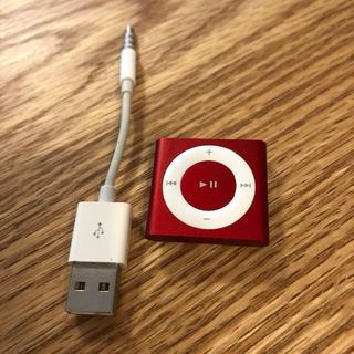 マッキントッシュ(MACKINTOSH)のipod shuffle (PRODUCT) red 2GB(ポータブルプレーヤー)