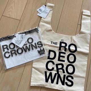 ロデオクラウンズ(RODEO CROWNS)のロデオ クリアポーチ&バッグ セット(ポーチ)