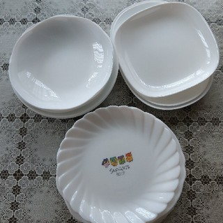 ヤマザキセイパン(山崎製パン)の山崎 白い皿 20枚 まとめ売り(食器)
