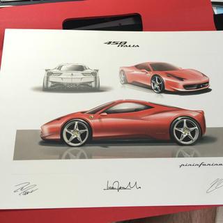 フェラーリ(Ferrari)の新品 フェラーリ リトグラフ(カタログ/マニュアル)