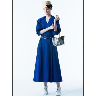 トーガ(TOGA)のTOGA PULLA Cotton taffeta shirt dress(ロングワンピース/マキシワンピース)