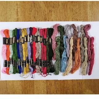 オリンパス(OLYMPUS)の刺繍糸 OLYMPUS★30本 30色セット  オリムパス 25番 刺しゅう糸(生地/糸)