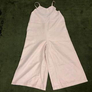 ジーユー(GU)のGU 薄ピンクオールインワン(子供服)(その他)