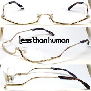 レスザンヒューマン(LESS THAN HUMAN)のless than human レスザンヒューマン po6po10 072(サングラス/メガネ)
