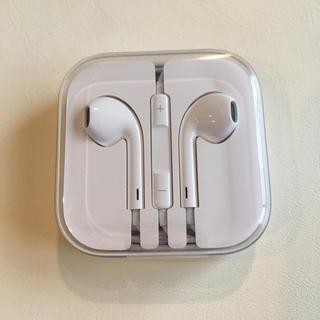 アイフォーン(iPhone)のiPhone6s 新品未開封!イヤフォン(ヘッドフォン/イヤフォン)