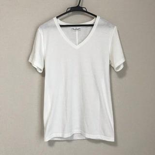 ジュンハシモト(junhashimoto)の◆AZ by junhashimoto◆Vネック Tシャツ 白(Tシャツ/カットソー(半袖/袖なし))