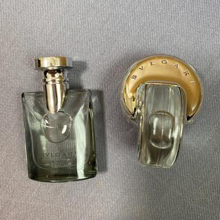 ブルガリ(BVLGARI)のブルガリ ミニ香水2本セット(ユニセックス)