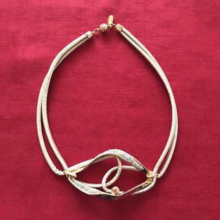 アビステ(ABISTE)のABISTE ゴールドカラーのネックレス(ネックレス)