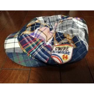 ラフ(rough)のrough ハンチング帽子(ハンチング/ベレー帽)