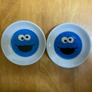 クッキーモンスター 小皿 2枚セット(食器)