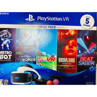 プレイステーションヴィーアール(PlayStation VR)のPlayStation VR MEGA PACK  (家庭用ゲーム機本体)