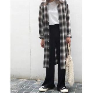 フィーニー(PHEENY)のPHEENY❤︎ Ombre check shirt gown(シャツ/ブラウス(長袖/七分))