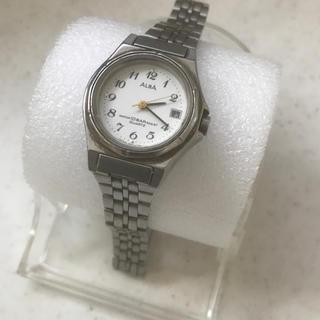 アルバ(ALBA)の稼働品 SEIKO ALBA クオーツレディース腕時計(腕時計)