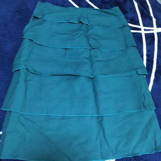 膝丈スカート(ひざ丈スカート)
