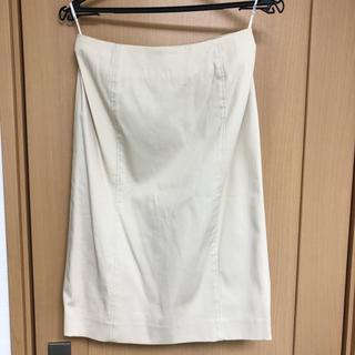 アンクワイエット(ANQUIET)のタイトスカート 未使用(ひざ丈スカート)